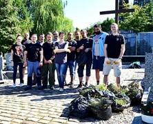 Sprzątanie Kwatery Żołnierzy AK w Gdańsku