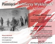 Narodowy Dzień Pamięci Żołnierzy Wyklętych w Gdańsku