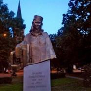 Odsłonięcie pomnika Inki w Gdańsku