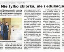 Piszą o nas | Tygodnik Wileńszczyzny, kwiecień 2016
