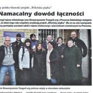 Piszą o nas | Tygodnik Wileńszczyzny, luty 2017