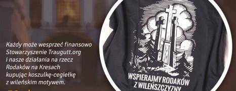 Koszulka – cegiełka | Wspierajmy Rodaków z Wileńszczyzny