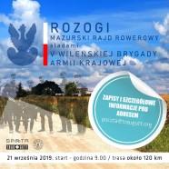 Mazurski Rajd Rowerowy – Rozogi 2019